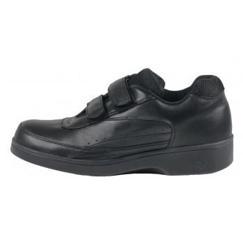 Chaussure de marche à double courroie pour hommes de Apex - Noir
