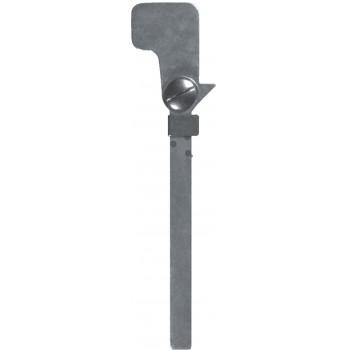 Articulation de la hanche à verrou à coulisseau avec butée en aluminium, à deux positions