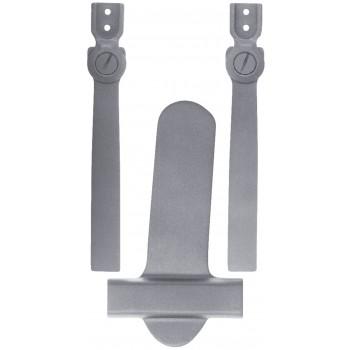 Modèle 3066-X - Étrier en deux parties avec articulation à action standard et plaque de support à coulisse large
