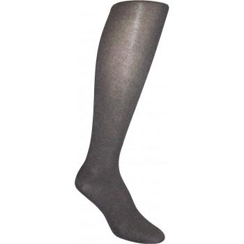 Bas cosmétique avec talon tricoté