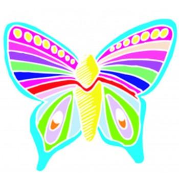 Papillon - dessin animé