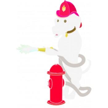 Chien de pompier