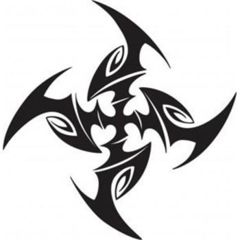 Tatouage croix tribale 2