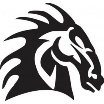 Tatouage cheval de guerre