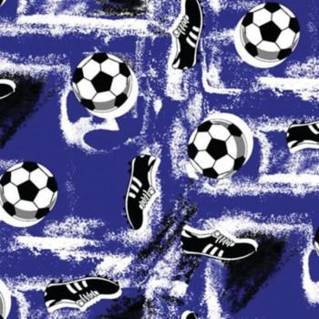 Soccer - bleu