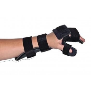 Orthèse de repos pour la main avec pouce en position neutre