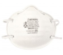 Respirateur contre les particules à filtre N95 de 3M (Modèle 8200)