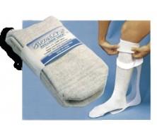 Manchon SilverMaxMC pour orthèse tibio-pédieuse