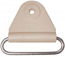 Chape triangle avec boucle en acier inoxydable
