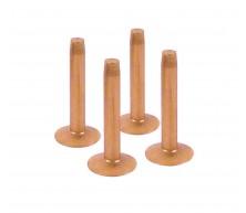 Rivets en cuivre pour courroies