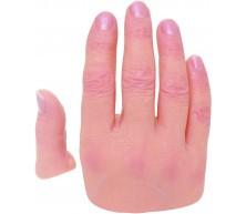 Option flexion des doigts pour recouvrement de silicone pour doigts (Modèles 200C, 200C2x, 200C3x, 201-205)