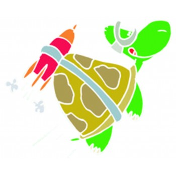 Turtle - Rocket Powered