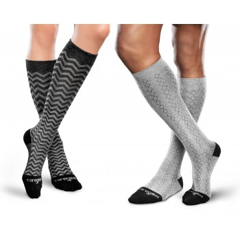 Patterned Core-Spun by THERAFIRM<sup>®</sup> Therapeutic Gradient Compression Socks