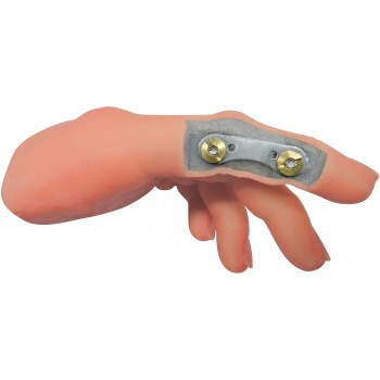 Hinged Finger Option for Silicone Glove with Inner Foam Hand (Models 120/120L/120C/120CL)