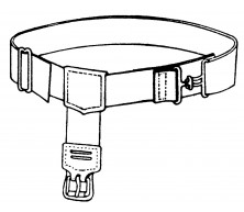 "Adjustable B/K Belt (20"" Waist)"
