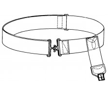 "Adjustable B/K Belt (29"" Waist)"