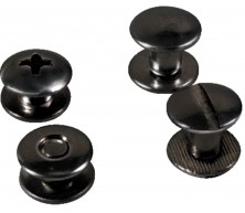 Chicago Screws (Steel/Black Oxide)