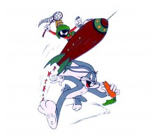 Bugs Bunny & Marvin The Martian