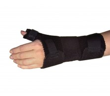Dorsal stay for Wrist Extension Brace with Thumb Support