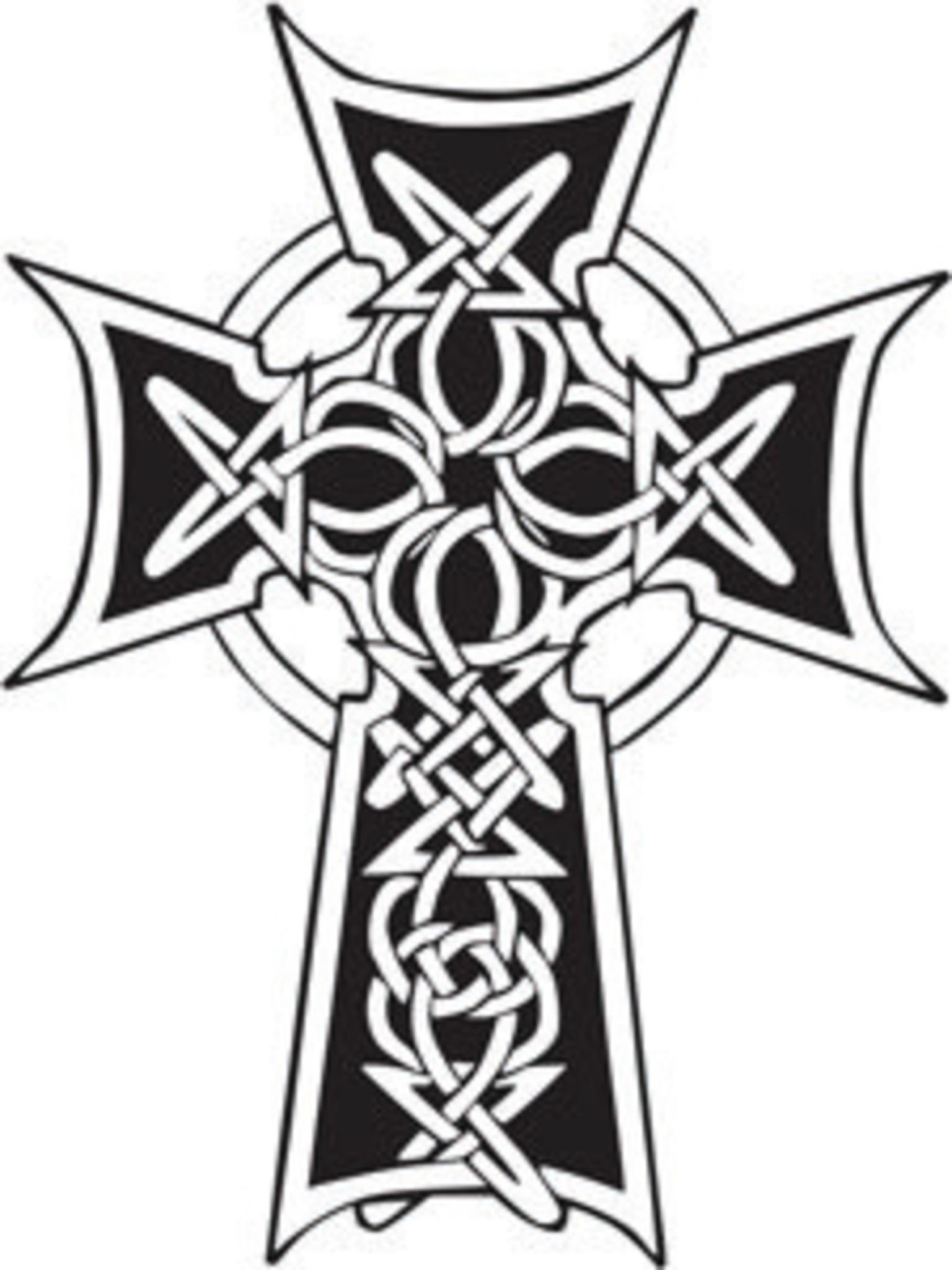 Tatouage Croix Celtique